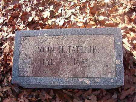 TATE, JR, JOHN H - Ouachita County, Arkansas | JOHN H TATE, JR - Arkansas Gravestone Photos