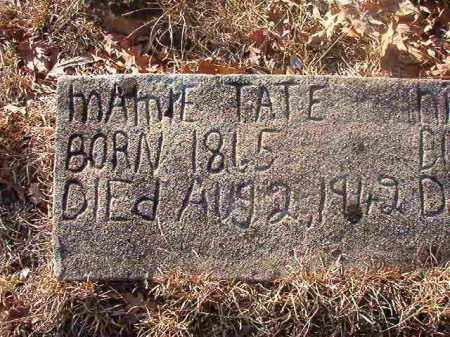 TATE, MAMIE - Ouachita County, Arkansas | MAMIE TATE - Arkansas Gravestone Photos