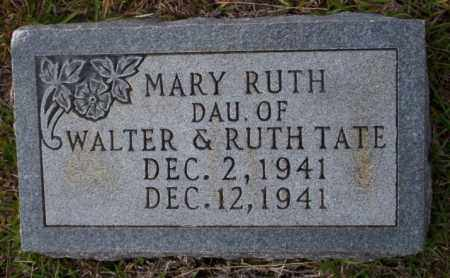 TATE, MARY RUTH - Ouachita County, Arkansas | MARY RUTH TATE - Arkansas Gravestone Photos
