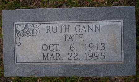 GANN TATE, RUTH - Ouachita County, Arkansas | RUTH GANN TATE - Arkansas Gravestone Photos