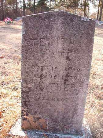 TATE, TELITHA - Ouachita County, Arkansas | TELITHA TATE - Arkansas Gravestone Photos