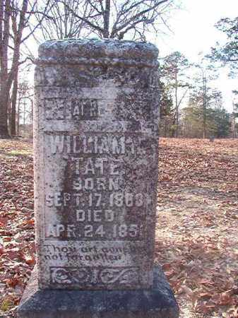 TATE, WILLIAM H - Ouachita County, Arkansas | WILLIAM H TATE - Arkansas Gravestone Photos