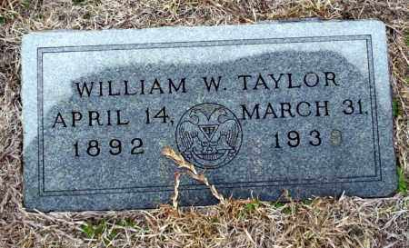 TAYLOR, WILLIAM W - Ouachita County, Arkansas | WILLIAM W TAYLOR - Arkansas Gravestone Photos