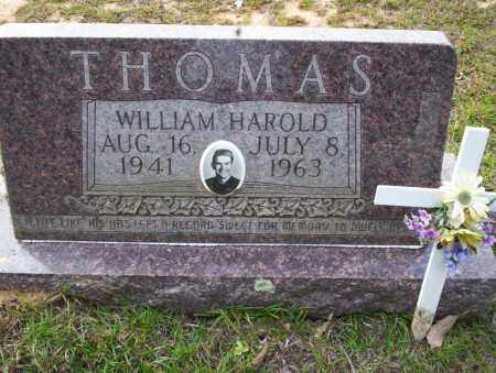 THOMAS, WILLIAM HAROLD - Ouachita County, Arkansas | WILLIAM HAROLD THOMAS - Arkansas Gravestone Photos