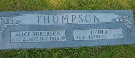 THOMPSON, JOHN A - Ouachita County, Arkansas | JOHN A THOMPSON - Arkansas Gravestone Photos