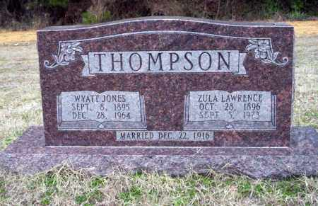 LAWRENCE THOMPSON, ZULA - Ouachita County, Arkansas | ZULA LAWRENCE THOMPSON - Arkansas Gravestone Photos