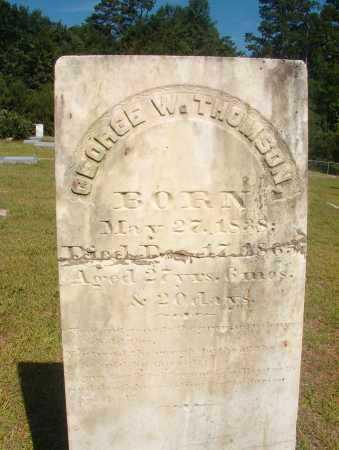 THOMSON, GEORGE W - Ouachita County, Arkansas | GEORGE W THOMSON - Arkansas Gravestone Photos