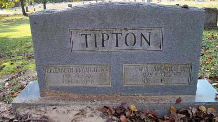 BROUGHTON TIPTON, ELIZABETH - Ouachita County, Arkansas | ELIZABETH BROUGHTON TIPTON - Arkansas Gravestone Photos