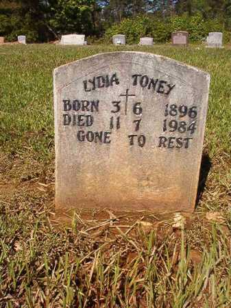 TONEY, LYDIA - Ouachita County, Arkansas | LYDIA TONEY - Arkansas Gravestone Photos