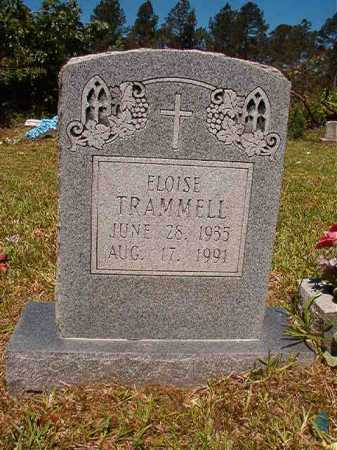 TRAMMELL, ELOISE - Ouachita County, Arkansas | ELOISE TRAMMELL - Arkansas Gravestone Photos