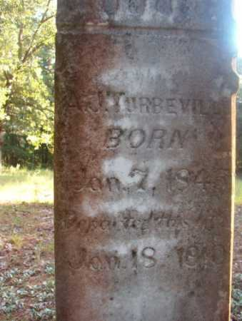 TURBEVILLE, A J - Ouachita County, Arkansas | A J TURBEVILLE - Arkansas Gravestone Photos
