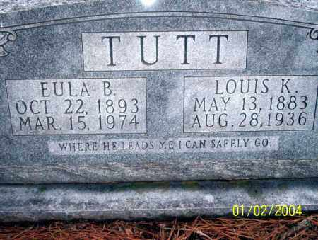 TUTT, LOUIS K - Ouachita County, Arkansas | LOUIS K TUTT - Arkansas Gravestone Photos