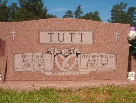 TUTT, FRED HARDIE - Ouachita County, Arkansas | FRED HARDIE TUTT - Arkansas Gravestone Photos