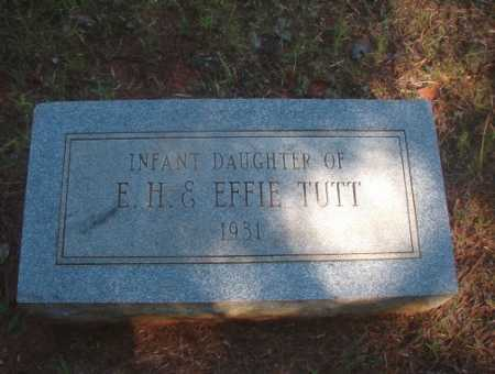 TUTT, INFANT DAUGHTER - Ouachita County, Arkansas | INFANT DAUGHTER TUTT - Arkansas Gravestone Photos