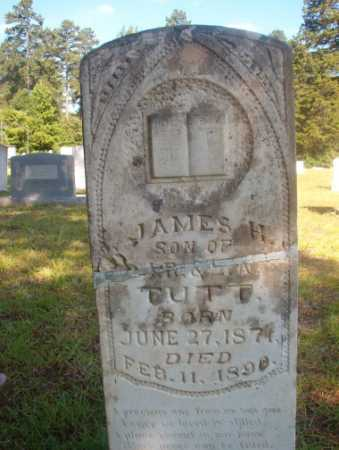 TUTT, JAMES H - Ouachita County, Arkansas | JAMES H TUTT - Arkansas Gravestone Photos