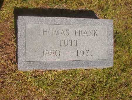 TUTT, THOMAS FRANK - Ouachita County, Arkansas | THOMAS FRANK TUTT - Arkansas Gravestone Photos