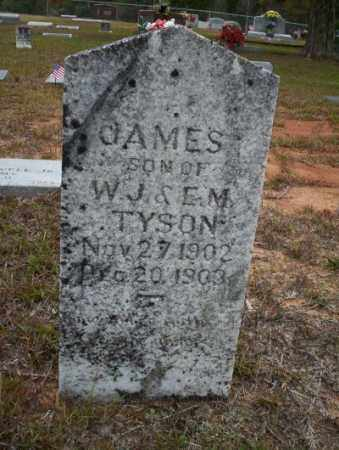 TYSON, JAMES - Ouachita County, Arkansas | JAMES TYSON - Arkansas Gravestone Photos