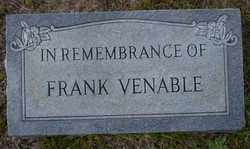 VENABLE, FRANK - Ouachita County, Arkansas | FRANK VENABLE - Arkansas Gravestone Photos