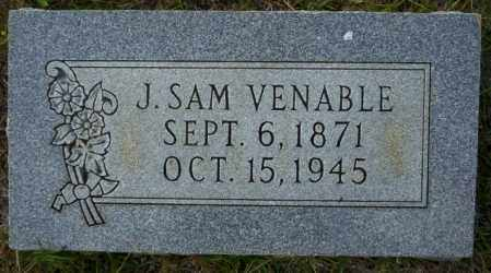 VENABLE, J SAM - Ouachita County, Arkansas | J SAM VENABLE - Arkansas Gravestone Photos