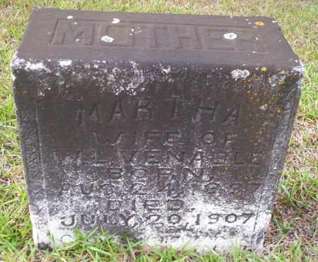 VENABLE, MARTHA - Ouachita County, Arkansas | MARTHA VENABLE - Arkansas Gravestone Photos