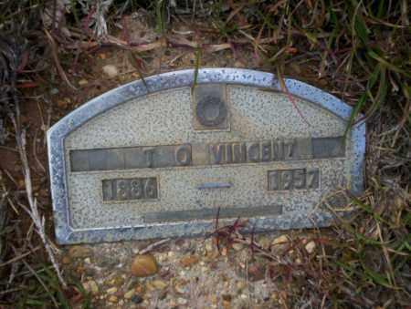 VINCENT, T.O. - Ouachita County, Arkansas   T.O. VINCENT - Arkansas Gravestone Photos