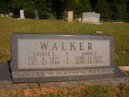 WALKER, FANNIE S - Ouachita County, Arkansas | FANNIE S WALKER - Arkansas Gravestone Photos