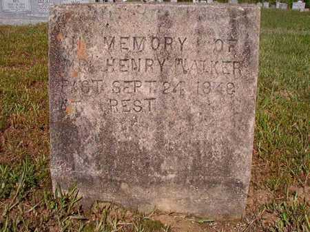 WALKER, HENRY - Ouachita County, Arkansas | HENRY WALKER - Arkansas Gravestone Photos