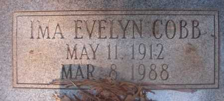 COBB WALKER, IMA EVELYN - Ouachita County, Arkansas | IMA EVELYN COBB WALKER - Arkansas Gravestone Photos