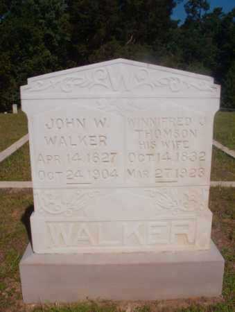 WALKER, WINNIFRED J - Ouachita County, Arkansas | WINNIFRED J WALKER - Arkansas Gravestone Photos