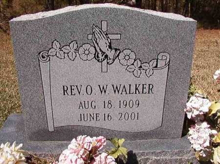 WALKER, REV, O W - Ouachita County, Arkansas | O W WALKER, REV - Arkansas Gravestone Photos