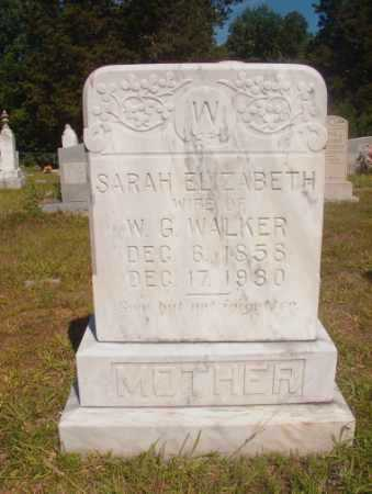 WALKER, SARAH ELIZABETH - Ouachita County, Arkansas | SARAH ELIZABETH WALKER - Arkansas Gravestone Photos