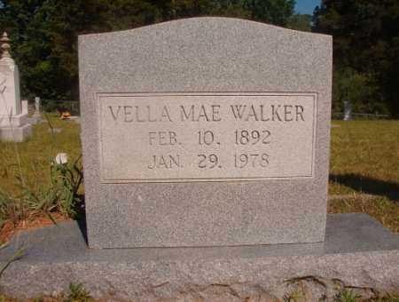 WALKER, VELLA MAE - Ouachita County, Arkansas | VELLA MAE WALKER - Arkansas Gravestone Photos