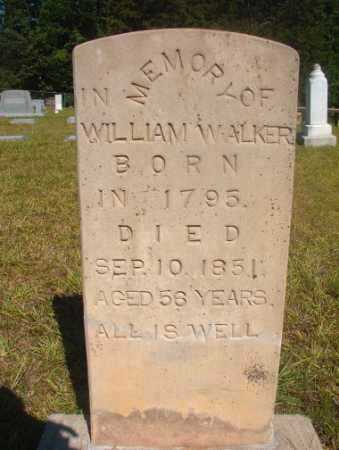 WALKER, WILLIAM - Ouachita County, Arkansas | WILLIAM WALKER - Arkansas Gravestone Photos