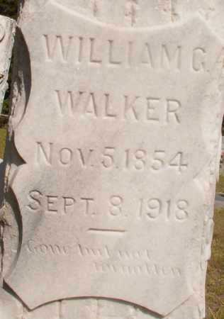 WALKER, WILLIAM G - Ouachita County, Arkansas | WILLIAM G WALKER - Arkansas Gravestone Photos
