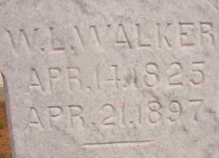 WALKER, W L - Ouachita County, Arkansas | W L WALKER - Arkansas Gravestone Photos