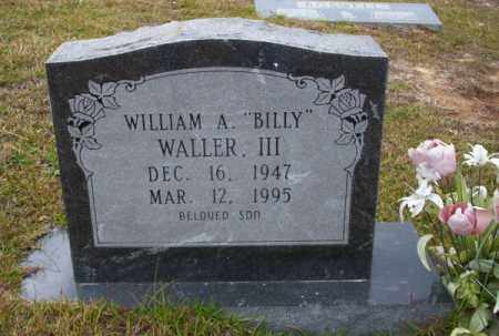 "WALLER III, WILLIAM A ""BILLY"" - Ouachita County, Arkansas 