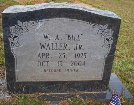"WALLER JR., W.A. ""BILL"" - Ouachita County, Arkansas 