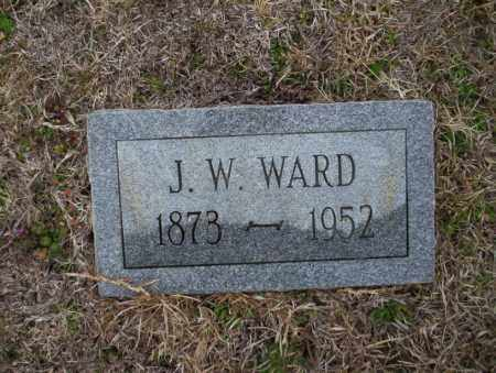 WARD, J.W. - Ouachita County, Arkansas | J.W. WARD - Arkansas Gravestone Photos