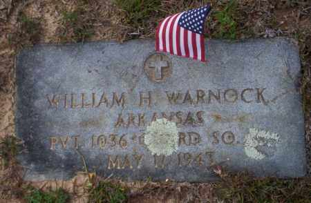 WARNOCK (VETERAN), WILLIAM H - Ouachita County, Arkansas | WILLIAM H WARNOCK (VETERAN) - Arkansas Gravestone Photos