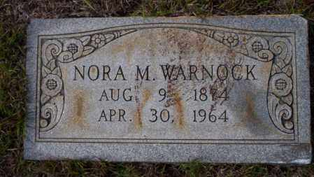 WARNOCK, NORA M - Ouachita County, Arkansas | NORA M WARNOCK - Arkansas Gravestone Photos