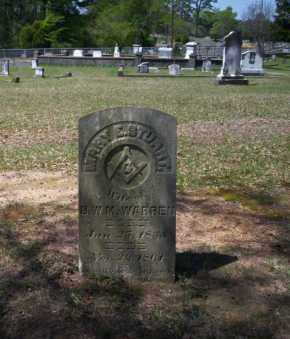 WARREN, MARY - Ouachita County, Arkansas | MARY WARREN - Arkansas Gravestone Photos