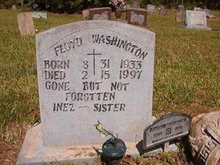 WASHINGTON, FLOYD - Ouachita County, Arkansas   FLOYD WASHINGTON - Arkansas Gravestone Photos