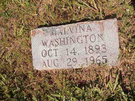 WASHINGTON, MALVINA - Ouachita County, Arkansas | MALVINA WASHINGTON - Arkansas Gravestone Photos