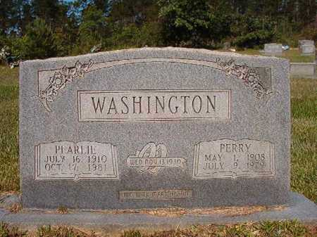 WASHINGTON, PERRY - Ouachita County, Arkansas | PERRY WASHINGTON - Arkansas Gravestone Photos