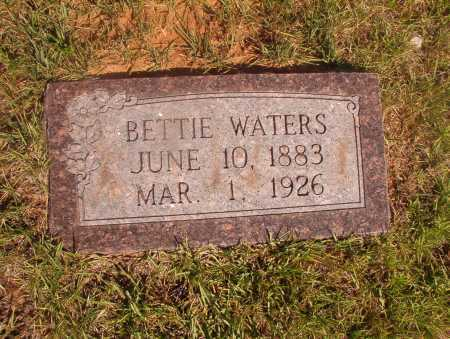 WATERS, BETTIE - Ouachita County, Arkansas | BETTIE WATERS - Arkansas Gravestone Photos
