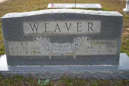 WEAVER, A.Y. - Ouachita County, Arkansas | A.Y. WEAVER - Arkansas Gravestone Photos