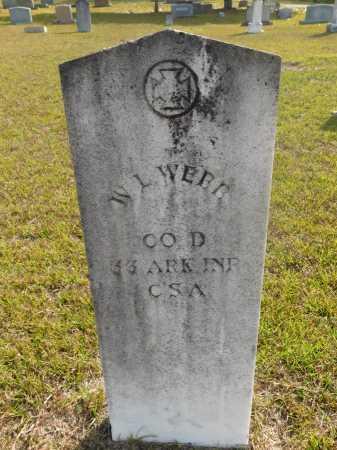 WEBB  (VETERAN CSA), W. L. - Ouachita County, Arkansas | W. L. WEBB  (VETERAN CSA) - Arkansas Gravestone Photos