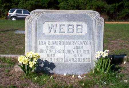 WEBB, IRA B - Ouachita County, Arkansas | IRA B WEBB - Arkansas Gravestone Photos