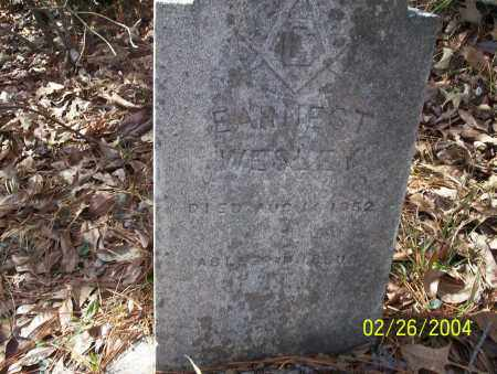 WESLEY, EARNEST - Ouachita County, Arkansas | EARNEST WESLEY - Arkansas Gravestone Photos