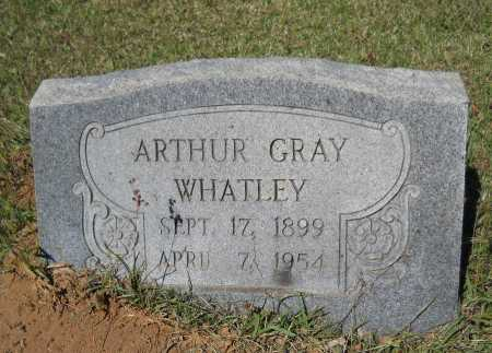 WHATLEY, ARTHUR GRAY - Ouachita County, Arkansas | ARTHUR GRAY WHATLEY - Arkansas Gravestone Photos